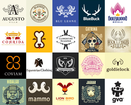 Symmetrical Logos Showcase of Creative Symmetrical Logos