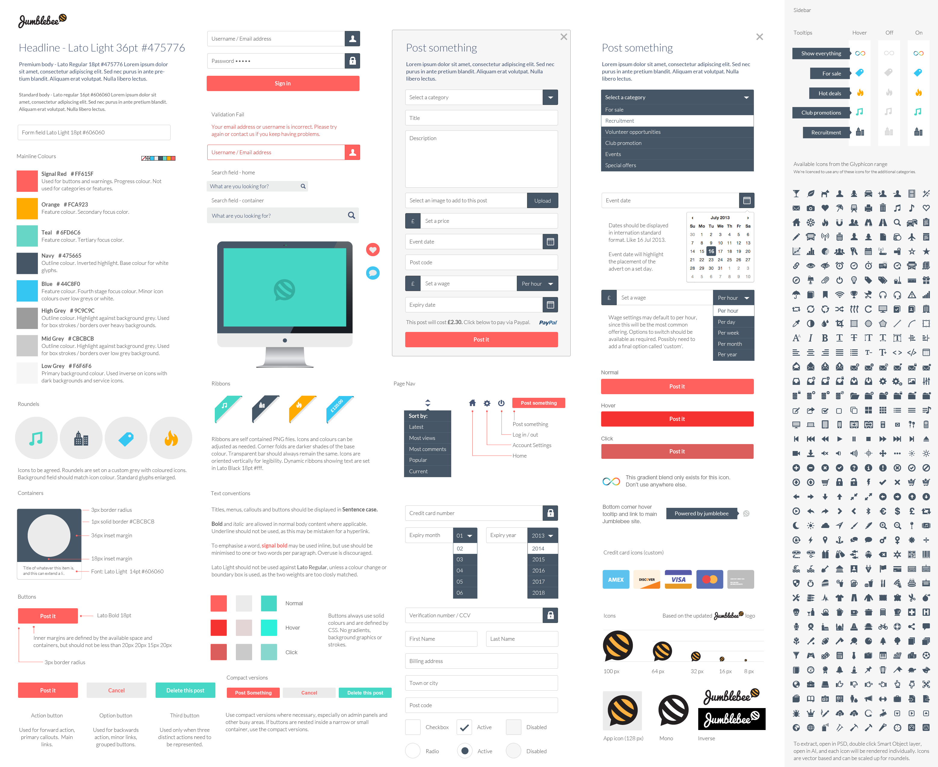 Brand Design Direction Template