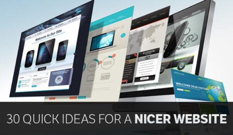Tools for making nice looking websites
